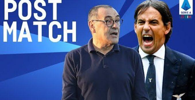 Lazio 3-1 Juventus | Inzaghi & Sarri Conferenza stampa Post Match | Serie A